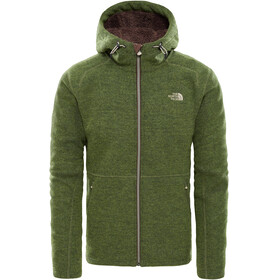 The North Face M's Zermatt Full Zip Hoddie Jacket Four Leaf Clover Heather